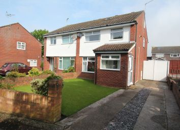 Thumbnail 4 bed semi-detached house to rent in Kenson Close, Rhoose, Barry
