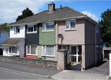 Thumbnail 3 bed semi-detached house for sale in Dudley Road, Plymouth