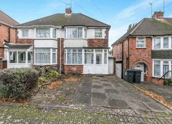 Thumbnail 3 bed semi-detached house for sale in Bryn Arden Road, Yardley, Birmingham