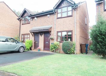 Thumbnail 2 bed semi-detached house for sale in Plattbrook Close, Fallowfield, Manchester