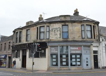 Thumbnail 4 bed flat for sale in Stirling Street, Denny, Falkirk