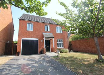 Thumbnail 4 bed detached house for sale in Maes Slowes Leyes, Rhoose, Barry