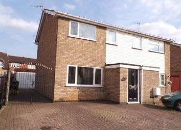 Thumbnail 3 bed semi-detached house for sale in Clayton Drive, Thurmaston, Leicester, Leicestershire