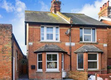 Thumbnail 2 bed semi-detached house for sale in Sun Lane, Hythe, Kent