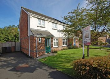 Thumbnail 3 bed semi-detached house to rent in Bevan Drive, Longbenton, Newcastle Upon Tyne