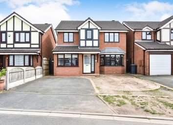 Thumbnail 4 bed detached house for sale in Palmer Close, Branston, Burton-On-Trent