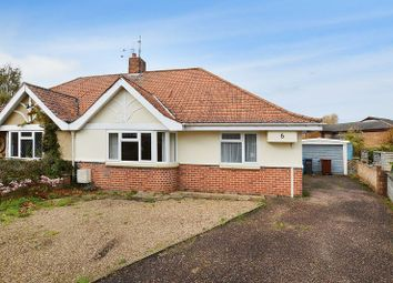 Thumbnail 2 bedroom semi-detached bungalow for sale in Glenmore Gardens, Norwich