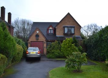 Thumbnail 3 bed detached house for sale in Wolverhampton Road, Pelsall