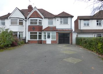 Thumbnail 4 bedroom semi-detached house to rent in Solihull Road, Shirley, Solihull