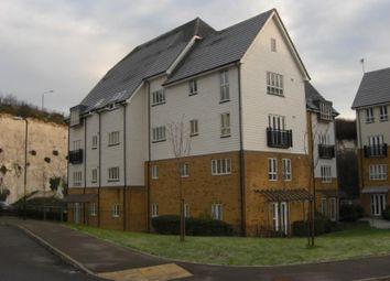 Thumbnail 2 bedroom flat to rent in Compass Court, Waterside, Northfleet, Kent