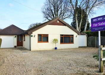 Thumbnail 4 bed detached bungalow for sale in Church Road, Three Legged Cross