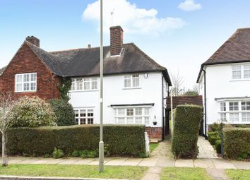 Thumbnail 3 bed semi-detached house for sale in Brookland Rise, Hampstead Garden Suburb