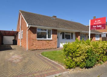 Thumbnail 3 bed semi-detached bungalow for sale in Roundwood Close, Hitchin