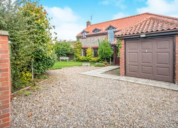 Thumbnail 4 bed detached house for sale in Mundesley Road, Knapton, North Walsham