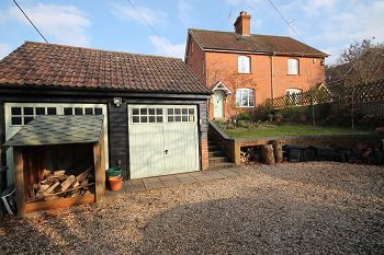 Thumbnail 4 bed semi-detached house to rent in The Green, Urchfont, Devizes