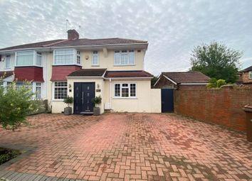 Thumbnail 4 bed semi-detached house for sale in Bacon Lane, Burnt Oak, Edgware