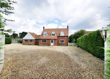 Thumbnail 4 bed detached house to rent in The Street, Little Snoring, Fakenham