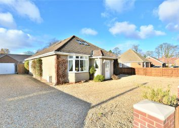 Thumbnail 5 bed detached bungalow for sale in Grantham Road, Waddington, Lincoln