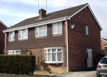Thumbnail 3 bed semi-detached house to rent in Kestrel Avenue, Woodville, Swadlincote