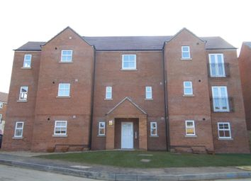 Thumbnail 2 bed flat to rent in Scarsdale Way, Grantham