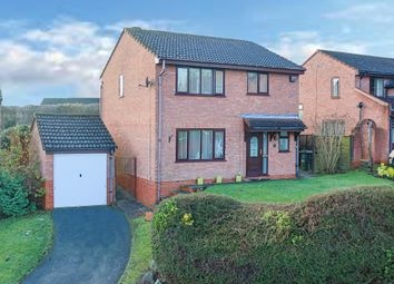 Thumbnail 4 bed detached house for sale in Danzey Close, Redditch