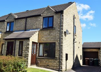 Thumbnail 2 bedroom end terrace house for sale in Flaxen Court, Bradford