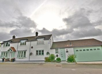 Thumbnail 4 bed detached house for sale in New Row, Messingham, Scunthorpe