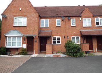 Thumbnail 2 bedroom terraced house for sale in Dickens Heath Road, Solihull, West Midland