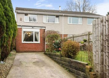 Thumbnail 3 bed semi-detached house for sale in Cwmbach Road, Fforestfach, Swansea