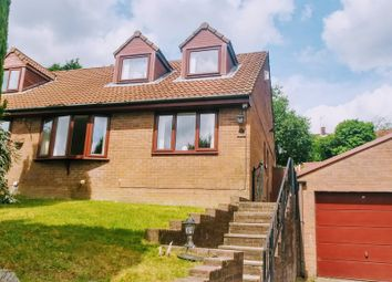 Thumbnail 3 bed semi-detached house for sale in Heol Cwm Ifor, Caerphilly