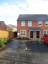 Thumbnail 2 bedroom semi-detached house for sale in Rea Court, Warboys