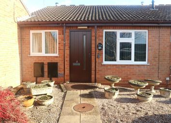 Thumbnail 2 bed terraced bungalow for sale in The Wickets, Burton-On-Trent, Staffordshire