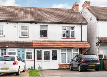 Thumbnail 3 bedroom end terrace house for sale in Malden Road, Cheam, Sutton, Surrey