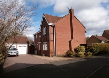 Thumbnail 4 bed detached house to rent in Chambers Close, Markfield
