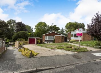 Thumbnail 3 bed detached bungalow for sale in The Knoll, Framlingham, Woodbridge