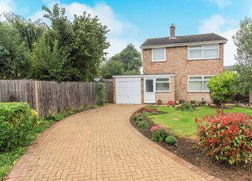 Thumbnail 3 bed detached house for sale in Caryer Close, Orton Longueville, Peterborough