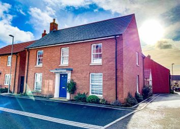 Thumbnail 4 bed detached house for sale in Elliott Way, Chickerell, Weymouth