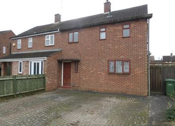 Thumbnail 2 bed semi-detached house for sale in Conway Avenue, Walton, Peterborough