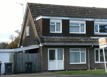 Thumbnail 3 bed semi-detached house to rent in Longmead Way, Tonbridge