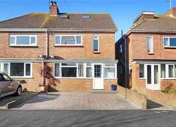 Thumbnail 5 bed semi-detached house for sale in Jubilee Avenue, Rustington, Littlehampton