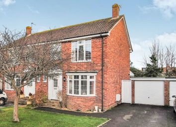 Thumbnail 3 bed semi-detached house for sale in Regency Close, Burnham-On-Sea