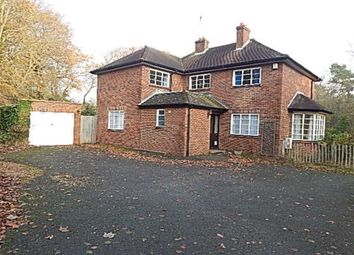 Thumbnail 5 bedroom detached house to rent in Rectory Lane, Sidcup