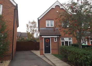Thumbnail 3 bed end terrace house for sale in Sheridan Way, Hucknall, Nottingham, Nottinghamshire