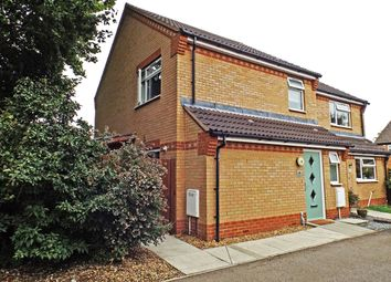 Thumbnail 3 bed semi-detached house for sale in Jubilee Close, Brampton, Huntingdon