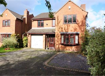 Thumbnail 4 bedroom detached house for sale in Link Rise, Markfield