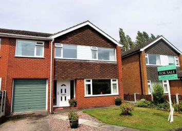 Thumbnail 4 bed property for sale in Danefield Road, Holmes Chapel, Crewe