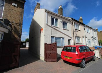 Thumbnail 3 bed end terrace house to rent in Canterbury Road, Sittingbourne