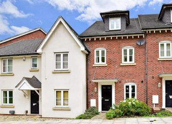 Thumbnail 3 bed town house for sale in Oswald Drive, Rochester, Kent