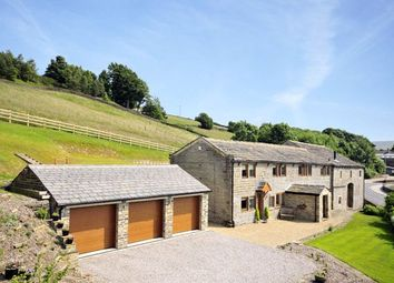Thumbnail 5 bed property for sale in Hawkcliffe Farm, Hebden Bridge Road, Oxenhope, Keighley