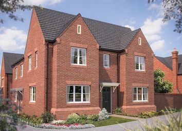 "Thumbnail 3 bed semi-detached house for sale in ""The Sheringham"" at Heyford Park, Camp Road, Upper Heyford, Bicester"